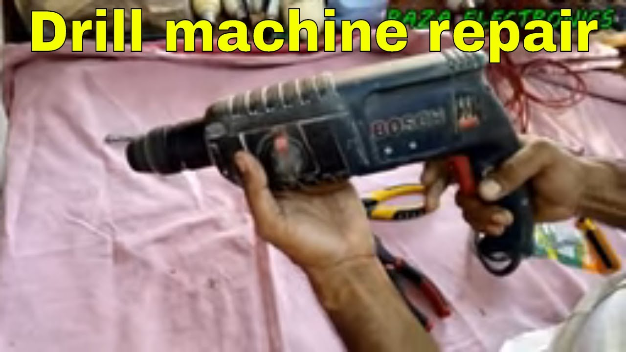 Drill machine repairing complete details in urdu hindi