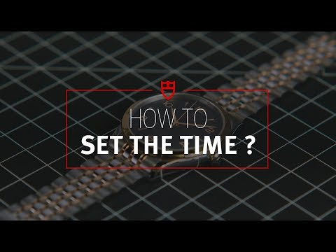 TUDOR Tutorial 5: How to set the time on your TUDOR Watch?