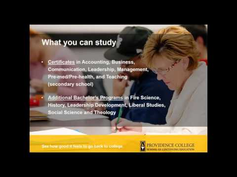 Interested in Providence College School of Continuing Education (SCE)?