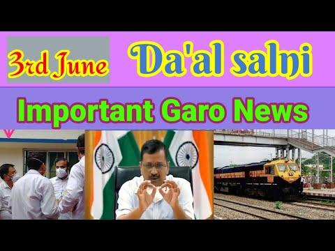 3 June Garo News || A'chik Info