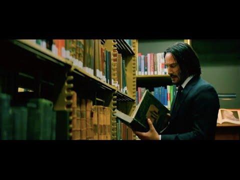 Убийство книгой в библиотеке | Джон Уик 3