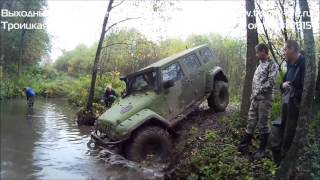 Jeep Wrangler off-road Trophy-life. Джип Рэнглер н...