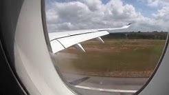 Finnair Airbus A350-900 XWB flight AY155 pull up at Krabi airport 31.1.2019