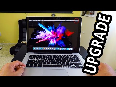 Old MacBook Pro Upgrade, FAST Memory, Fast Hard Drive SSD
