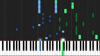 Boulevard Of Broken Dreams - Green Day [Piano Tutorial] (Synthesia) // Mr.Meeseeks Piano