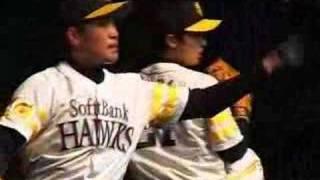 ブルペン(斉藤、高橋秀、三瀬、新垣、和田) +投手陣トレーニング(斉...