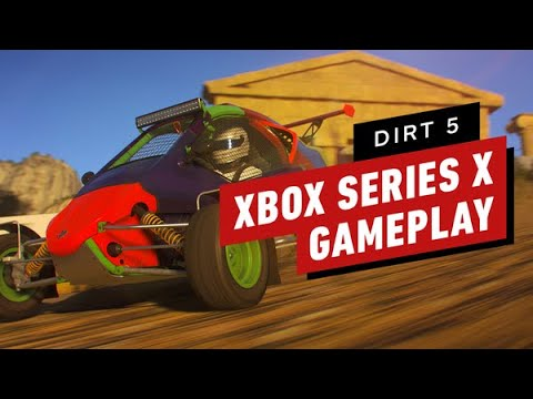 Dirt 5 on Xbox Series X: 4 Minutes of Gameplay