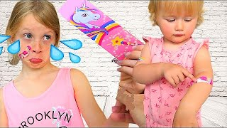 alicia les boo boo story de melissa  video for toddler