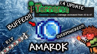 Amarok - BUFFED & OVERPOWERED Early Hardmode Yoyo in Terraria 1.4 Update (Showcase & How to Get It)