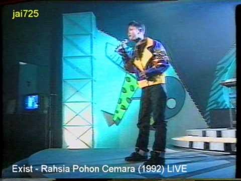 Exist - Rahsia Pohon Cemara (1992) LIVE