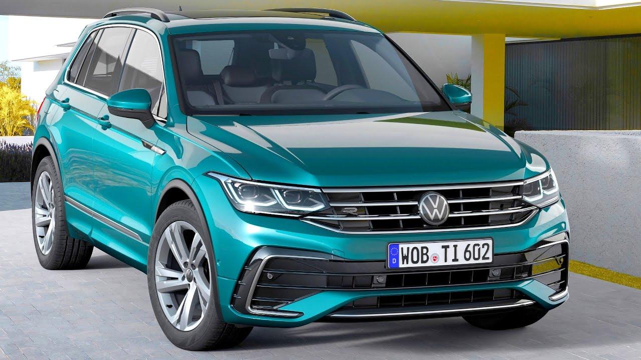 2021 Volkswagen Tiguan R, R-Line, eHybrid - YouTube