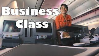 Business Class || Garuda Indonesia Airbus A330-200  Surabaya - Jakarta