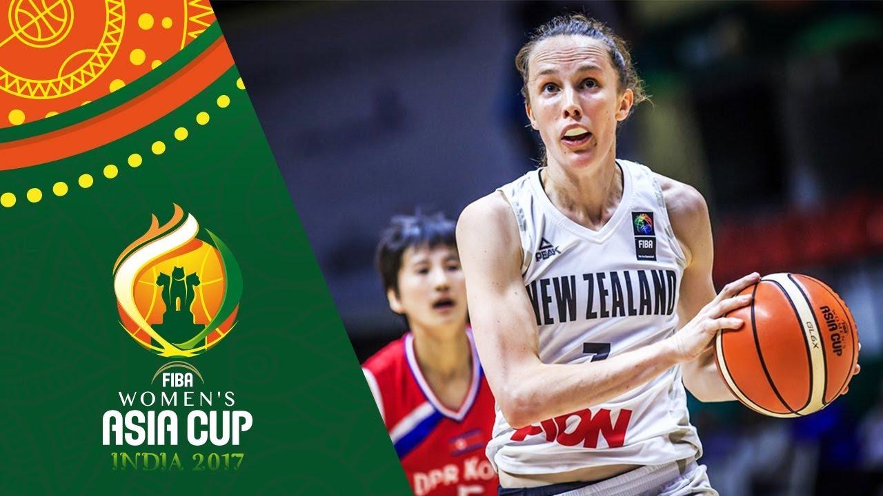 New Zealand v DPR Korea - Full Game - Classification 5-8 - FIBA Women's Asia Cup 2017