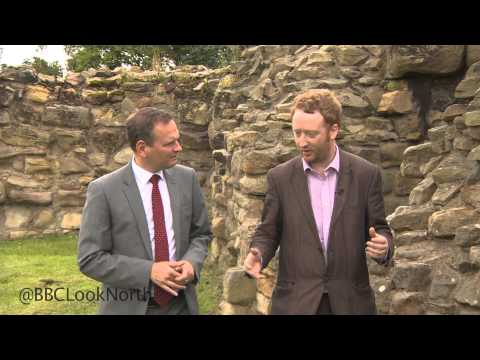 A quick guide to Pontefract Castle and its history, as seen on BBC Look North (Yorks)