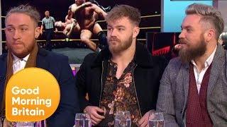 WWE UK Wrestlers Explain Why They Turned Vegan   Good Morning Britain