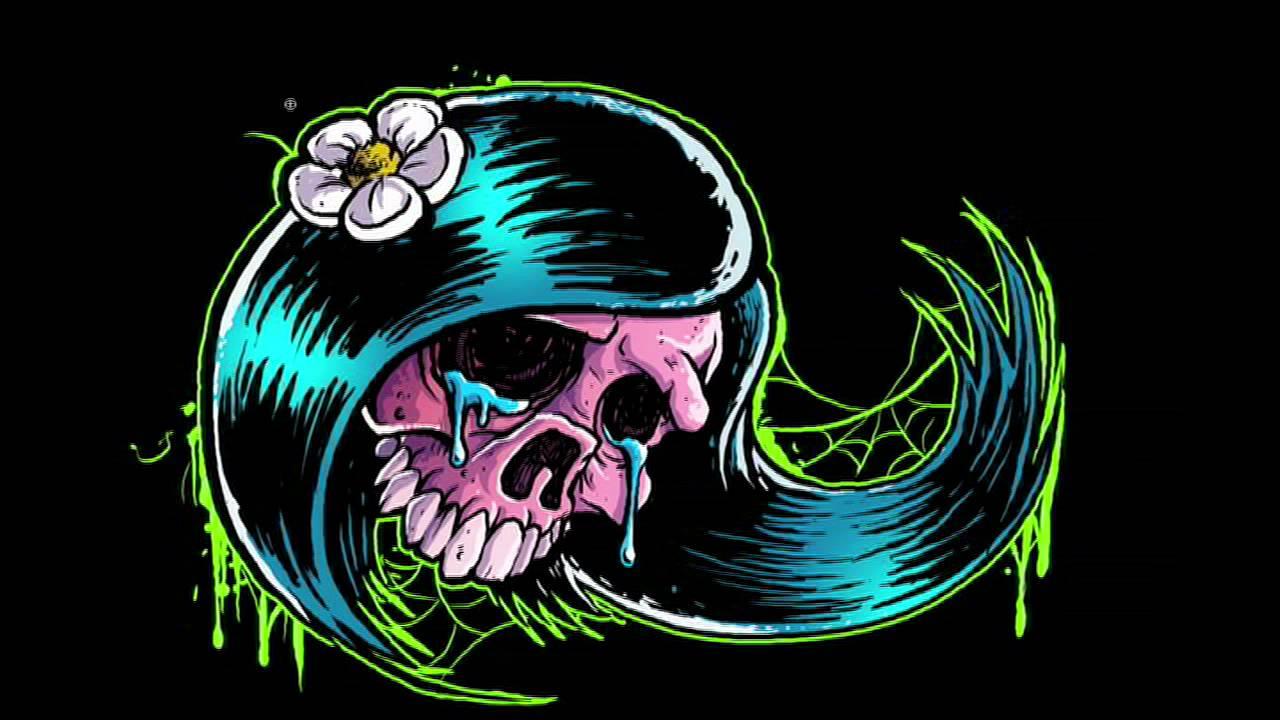 31 awesome girly skull - photo #11