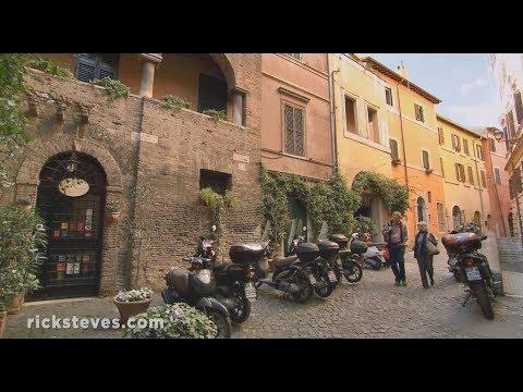 Rome, Italy: Vibrant Trastevere