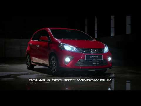 The All-New Perodua Myvi - Safety & Security Features