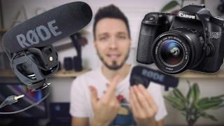 """Обзор микрофона """"RODE Videomic Pro"""" / Сравнение со встроенным и петличкой / Плюсы и минусы"""