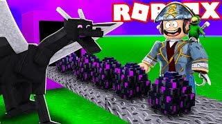 LE MINECRAFT DRAGON ENDER USINE SUR ROBLOX!