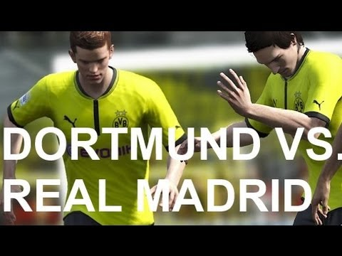 Real Madrid vs Borussia Dortmund - FIFA 13 Prono Travel Video