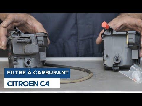 Citroën C4 - Changer le Filtre à Carburant