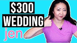 My Super Cheap $300 Courthouse Wedding 💍| JEN TALKS FOREVER