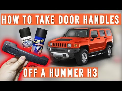 How To Remove Door Handles On A Hummer H3