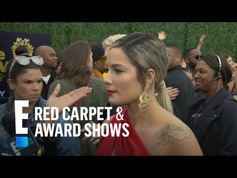 Halsey's Angelina Jolie Moment at 2018 MTV Music Awards