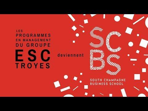 SCBS - Le Groupe ESC Troyes crée une marque pour ses programmes en management !