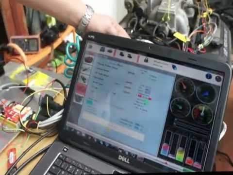 Ford 3 0 Wiring Diagram 1uz First Start Spitronics Youtube