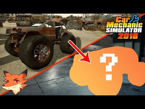 La restauration du Monster Truck est terminée ! | CAR MECHANIC SIMULATOR 2018