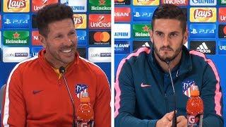 Diego Simeone & Koke Full Pre-Match Press Conference - Atletico Madrid v Chelsea - Champions League