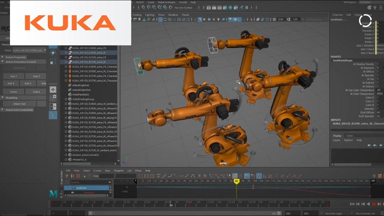 Animating Robots Instead of Programming Them | andyRobot + KUKA