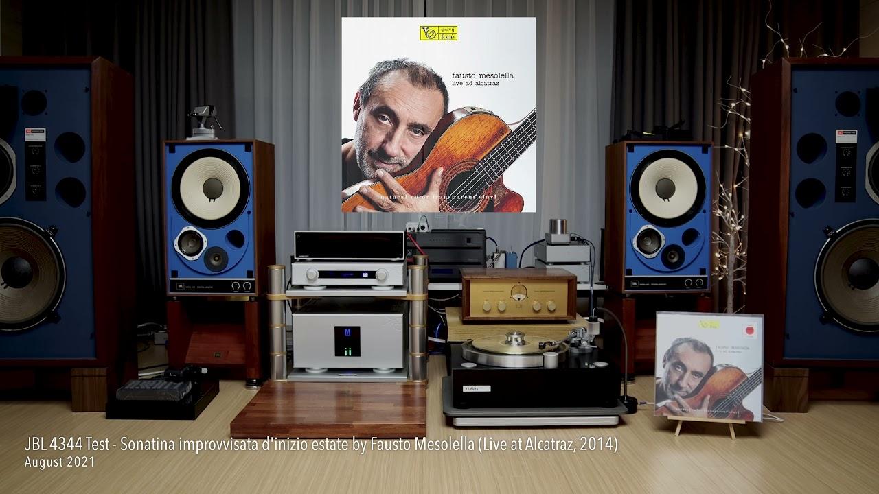 Download JBL 4344 Test - Fausto Mesolella (Live at Alcatraz)