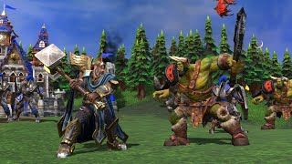 Playing Warcraft 3 Reforged, Trying Out New Patch and New Skins!