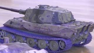 Scale RC:Radio Controlled  Tanks from Jevnaker Hobby Fair 2017 - RC Adventures