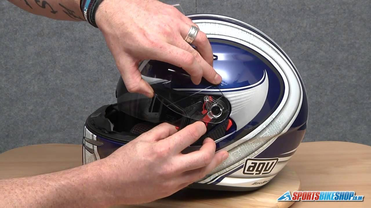 afb77bb2 How To Change An AGV GT2 Visor - YouTube