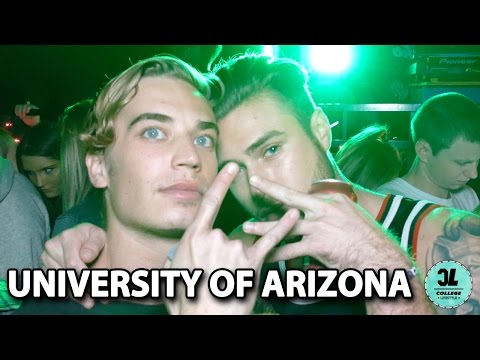 COLLEGE LIFESTYLE at University of Arizona with @uofaparties