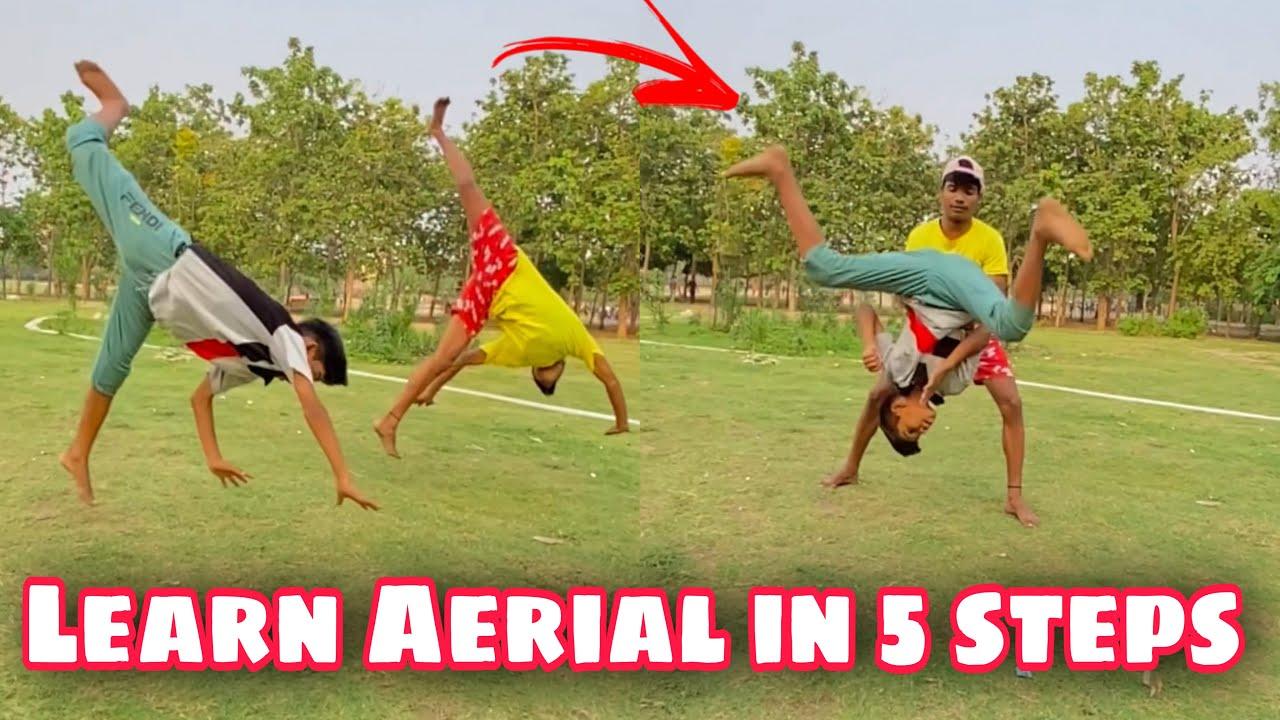 Learn Aerial in just 5 steps #shorts #Minijumper