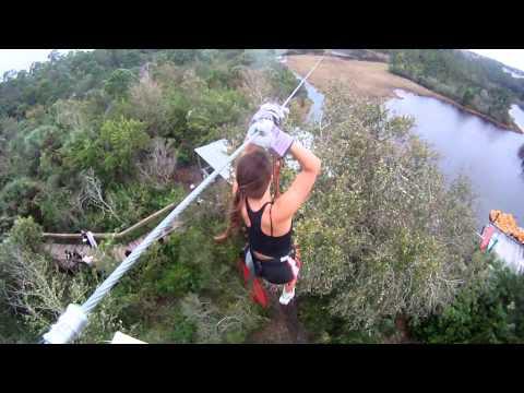 Brevard Zoo Treetop Trek: Gopro HD ziplines