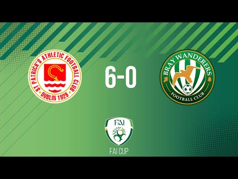 FAI Cup First Round: St. Patrick's Athletic 6-0 Bray Wanderers