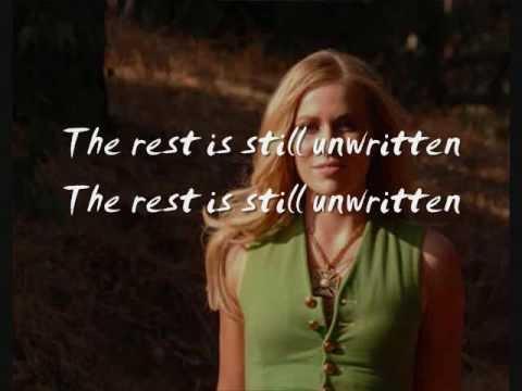 Unwritten [Karaoke/ Instrumental]  Natasha Bedingfield lyrics on screen