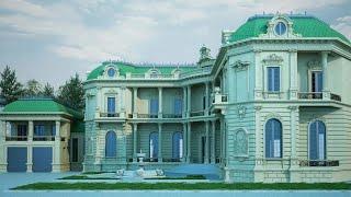Строительство дома  в классическом стите | Проект дома в классическом стиле