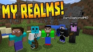 JOIN MY MCPE REALMS!?? - Official Realms World - Minecraft PE (Pocket Edition)