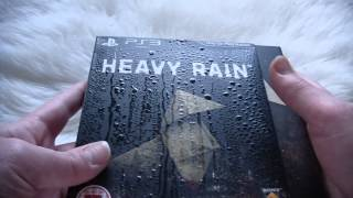 Heavy Rain Limited Edition (PS3) - Unboxing
