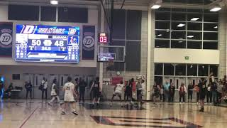 Anthony roy scored 25 points, including a clinching 3-pointer, as dublin beat granada to finish first in the east bay athletic league's valley division.