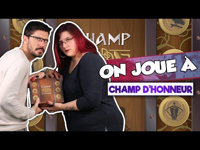[ON JOUE À] CHAMP D'HONNEUR chez @Gigamic TV