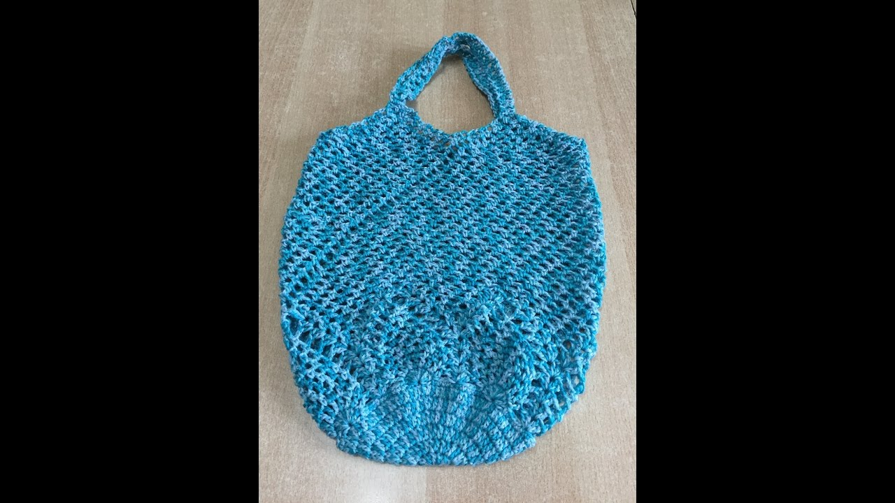 Tuto Sac Filet Au Crochet 12