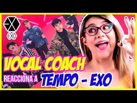 EXO - TEMPO | VOCAL COACH REACCIONA | Gret Rocha